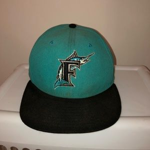 Florida Marlins Fitted Hat